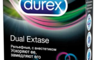 Презервативы Durex Dual Extase: ускоряют ли?