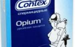 Особенности презервативов Contex Opium