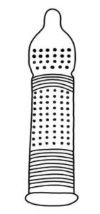 пупырышки + точки + анатомическая форма